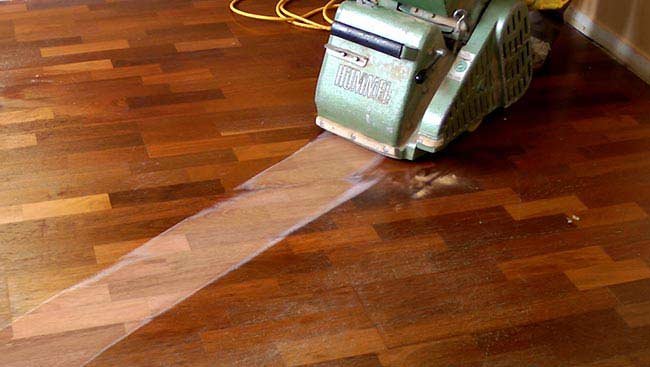 How To Sand And Finish Wood Floors