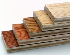 What are your options for solid and engineered hardwood for Wood floor pieces